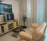 SHORT TERM FURNISHED 1+1 BEDROOM + OUTDOOR PATIO FOR FAMILY OF 4